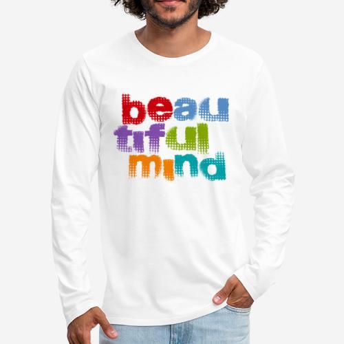 schöne geistige Seele - Männer Premium Langarmshirt