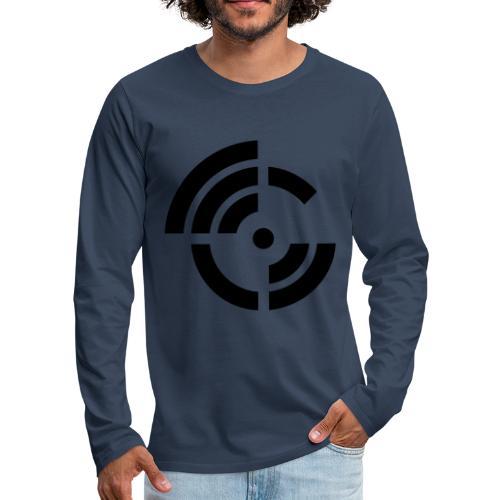 electroradio.fm logo - Men's Premium Longsleeve Shirt
