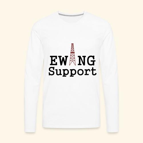 Ewing Support - Men's Premium Longsleeve Shirt