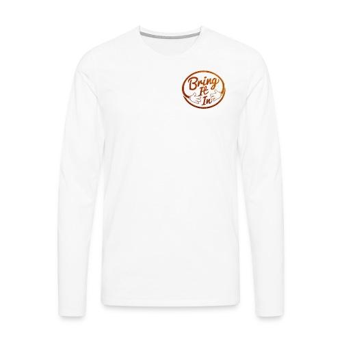 BII Lighter Timber png - Men's Premium Longsleeve Shirt