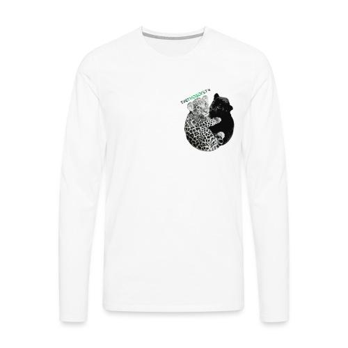 panther-jaguar special edition - Herre premium T-shirt med lange ærmer