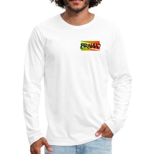 Brammo color - Mannen Premium shirt met lange mouwen