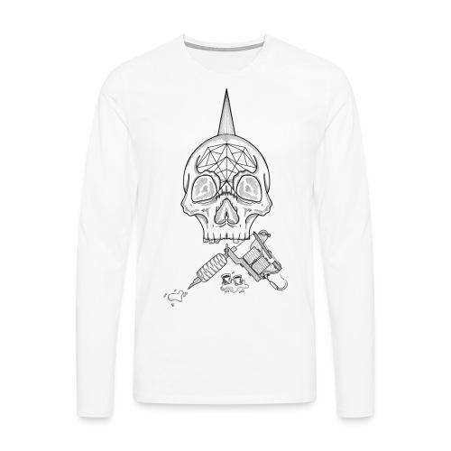 Skull tattoo - T-shirt manches longues Premium Homme