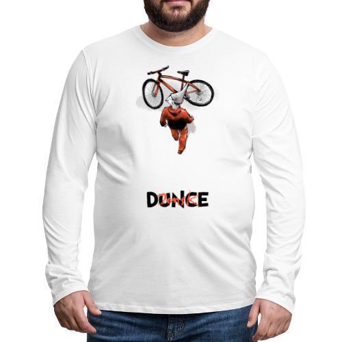DunceKira! - Premium langermet T-skjorte for menn