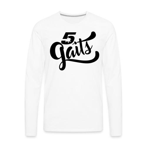5Gaits 1 - Men's Premium Longsleeve Shirt