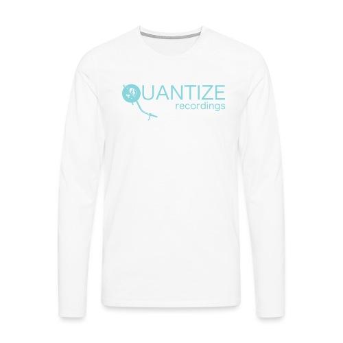 Quantize Blue Logo - Men's Premium Longsleeve Shirt
