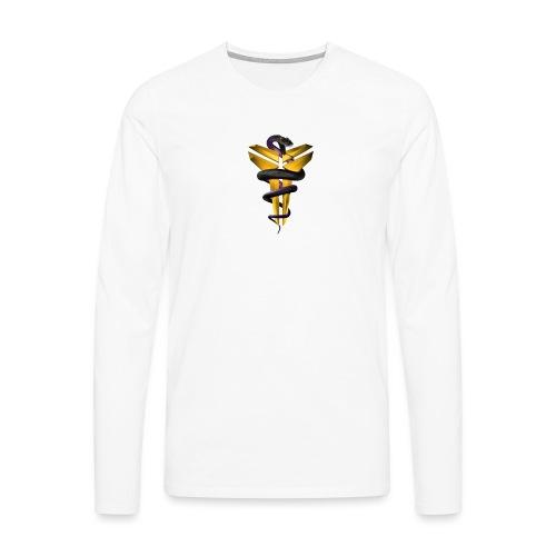 Snake BlackMamba - Långärmad premium-T-shirt herr