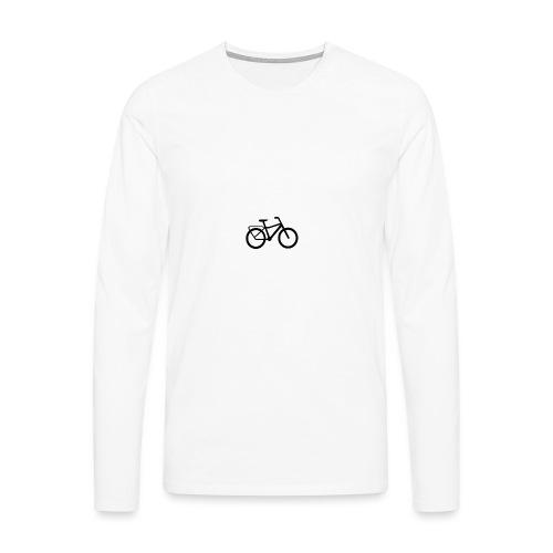 BCL Shirt Back White - Men's Premium Longsleeve Shirt