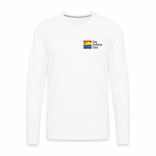 GOC Logo Black Text - Men's Premium Longsleeve Shirt