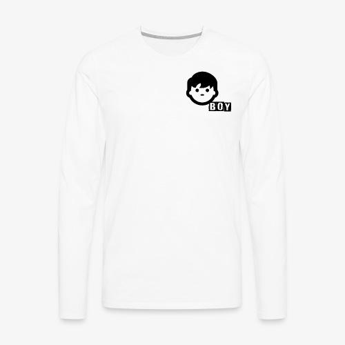 boy - T-shirt manches longues Premium Homme