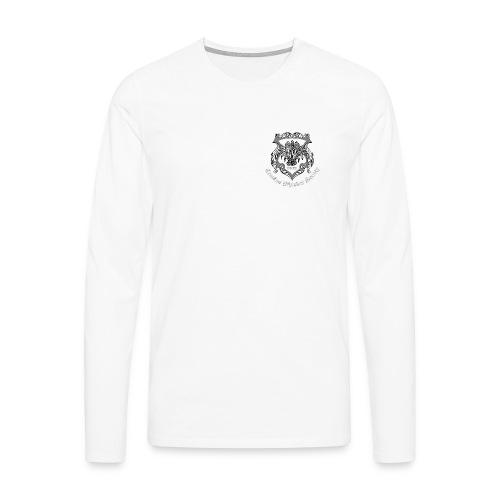 CWS Logo (white text) - Men's Premium Longsleeve Shirt