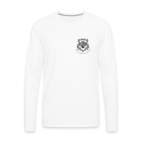 CWS Logo (white text) - Men's Premium Longsleeve Shirt