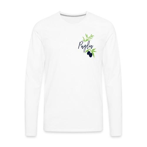 Puglia - Maglietta Premium a manica lunga da uomo