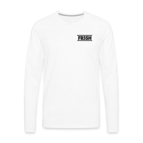 Fr3sh - Mannen Premium shirt met lange mouwen