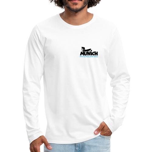 Munich Riversurfing München Surfer - Männer Premium Langarmshirt