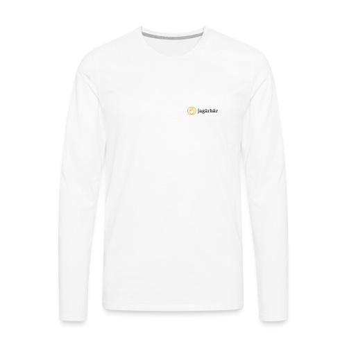 #jagärhär - Långärmad premium-T-shirt herr