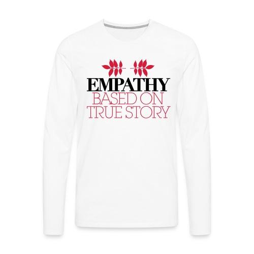 empathy story - Koszulka męska Premium z długim rękawem
