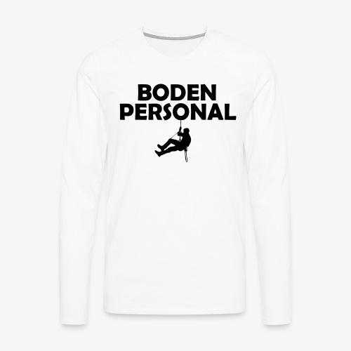 bodenpersonal - Männer Premium Langarmshirt