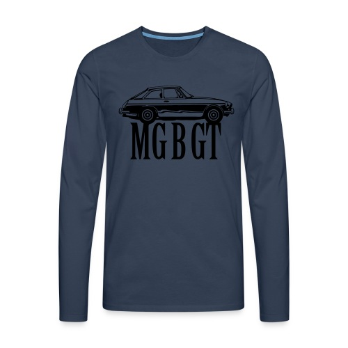 MG MGB GT - Autonaut.com - Men's Premium Longsleeve Shirt