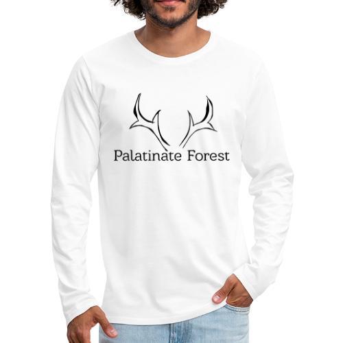 Palatinate Forest svg Geweih - Männer Premium Langarmshirt