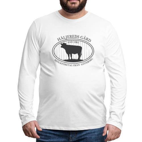 Häljereds Gård - Långärmad premium-T-shirt herr