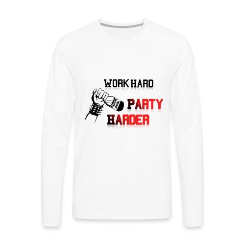 nadruk008 png - Koszulka męska Premium z długim rękawem