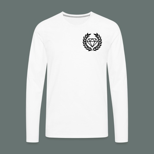 Black diamond Logo - Men's Premium Longsleeve Shirt