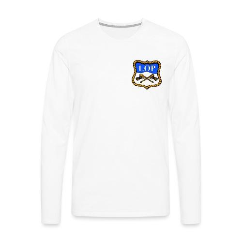 LOP LOGO - Premium langermet T-skjorte for menn