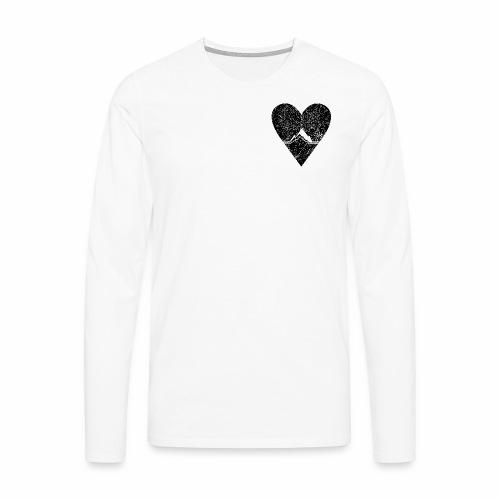 Bergliebe - used / vintage look - Männer Premium Langarmshirt