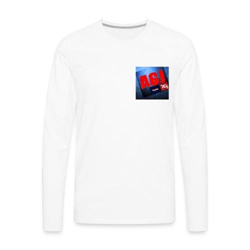 AGJ Nieuw logo design - Mannen Premium shirt met lange mouwen