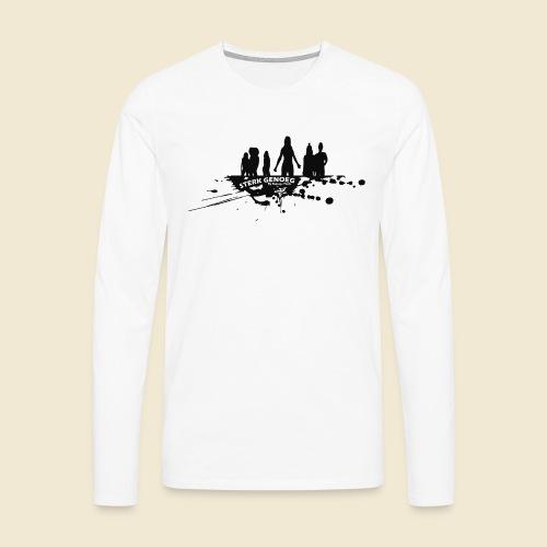 Sterk Genoeg by Natasja Poels limited edition - Mannen Premium shirt met lange mouwen
