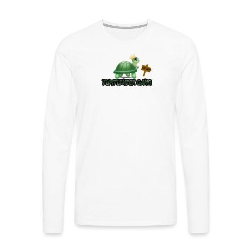 Turtle Neck Design 1 - Men's Premium Longsleeve Shirt