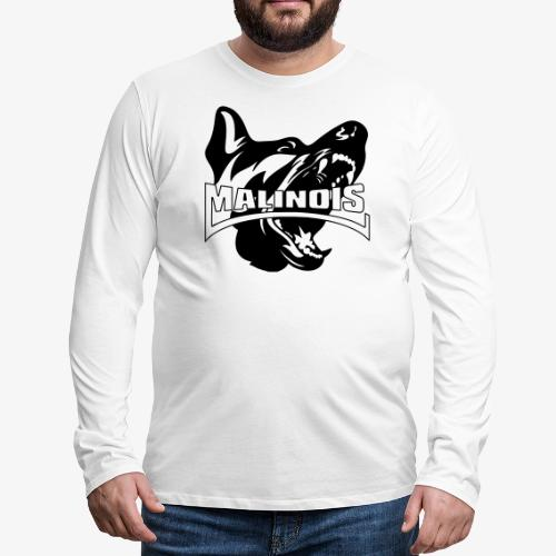 malinois - T-shirt manches longues Premium Homme