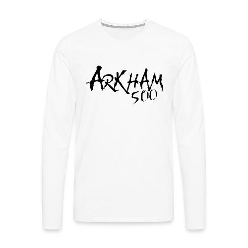 arkham 500 sort png - Premium langermet T-skjorte for menn