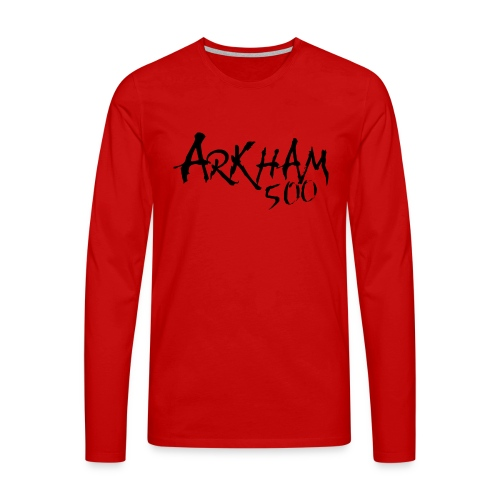 arkham 500 sort png - Men's Premium Longsleeve Shirt