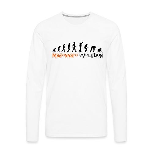 madonnaro evolution original - Men's Premium Longsleeve Shirt