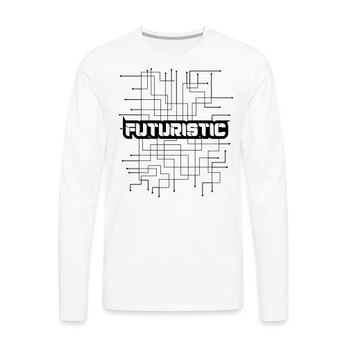 Futuristic - Mannen Premium shirt met lange mouwen