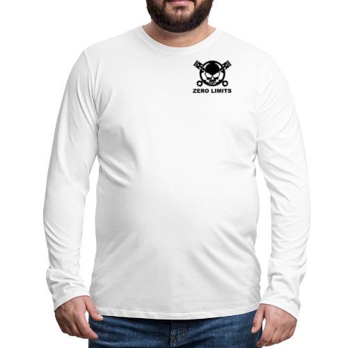 Normal Zero Limits Edition - Männer Premium Langarmshirt