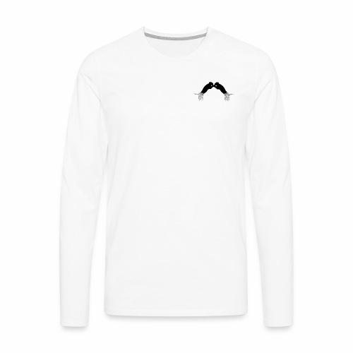 tiger black - Männer Premium Langarmshirt
