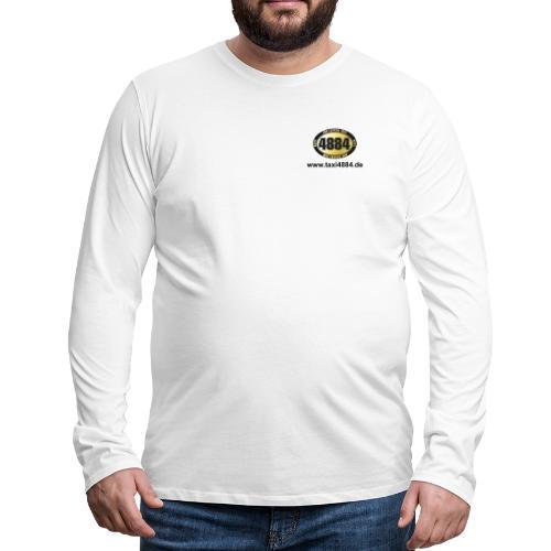 logovorne hinten dunkel - Männer Premium Langarmshirt