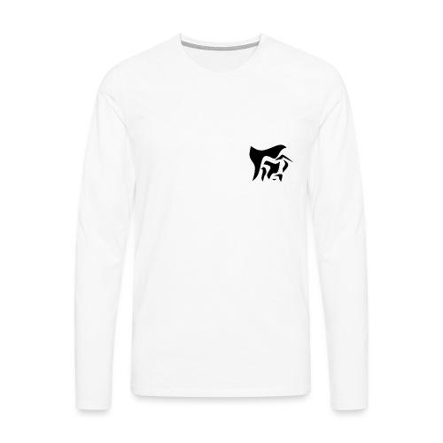 Sans_titre1 - T-shirt manches longues Premium Homme