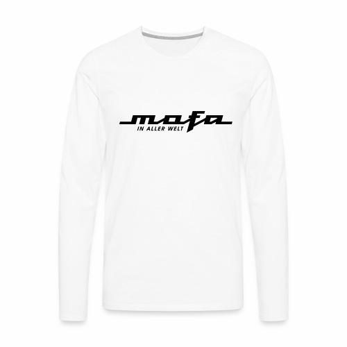 Mofa in aller Welt Logo Parodie (v2) - Men's Premium Longsleeve Shirt