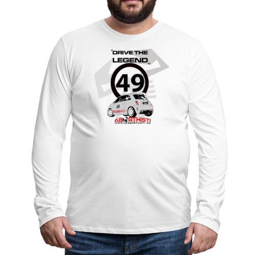 drive the legend - Premium langermet T-skjorte for menn