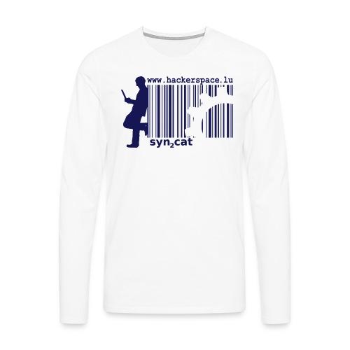 syn2cat hackerspace - Men's Premium Longsleeve Shirt