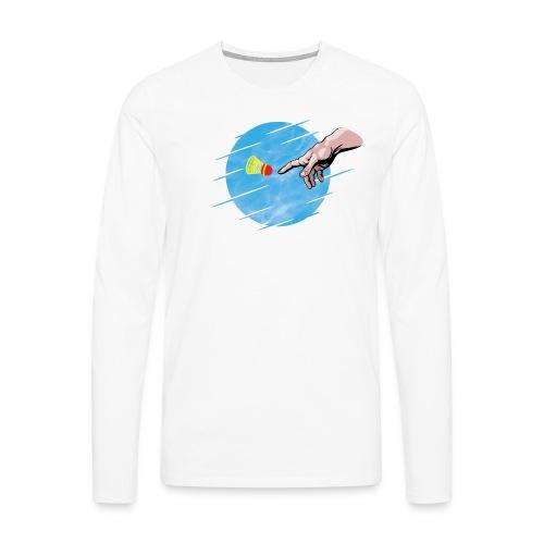 Crossminton, une divine création - Men's Premium Longsleeve Shirt