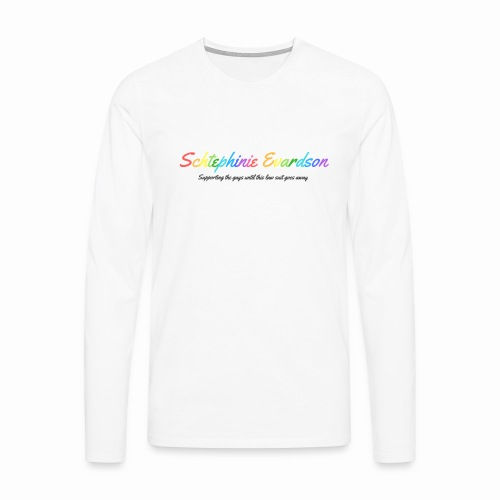 Schtephinie Evardson: Special Edition Gay Pride - Men's Premium Longsleeve Shirt