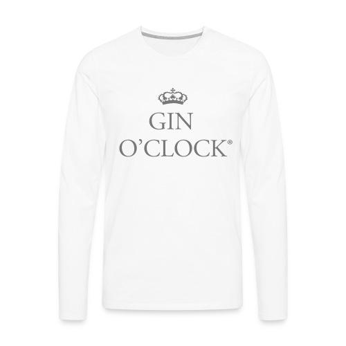 Gin O'Clock - Men's Premium Longsleeve Shirt