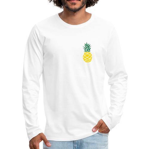Pineapple - Mannen Premium shirt met lange mouwen
