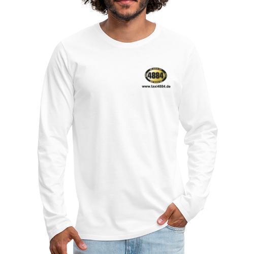 logoeinfach schwarz - Männer Premium Langarmshirt