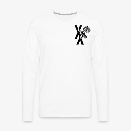 EST19XX ROSE - Mannen Premium shirt met lange mouwen